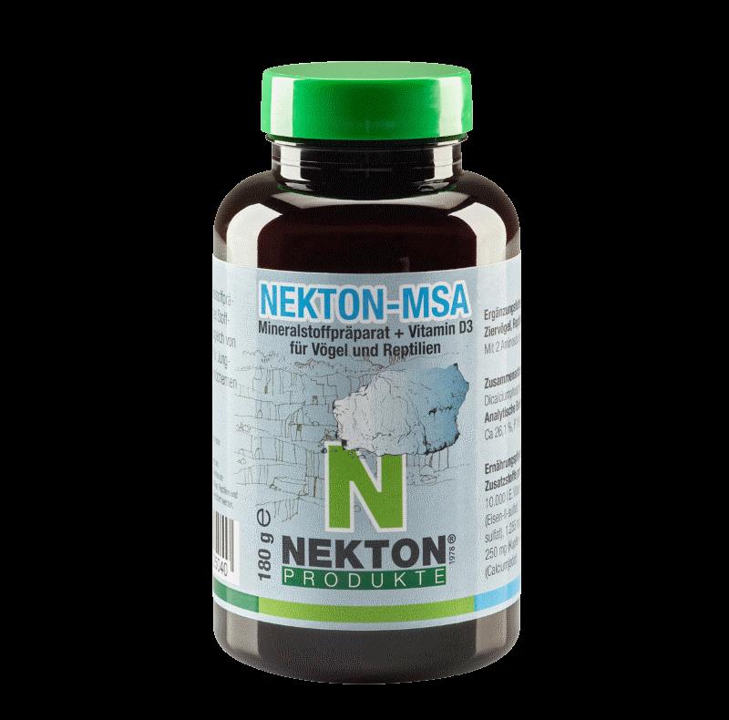 NEKTON-MSA 180g Preparado mineral para aves y reptiles
