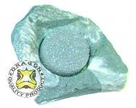 Cuenco mini en roca Granite Rock aprox. 10 ml con esponja