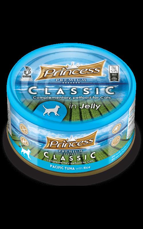 PRINCESS Classic Atún del Pacífico con Arroz 170g Comida húmeda para gatos