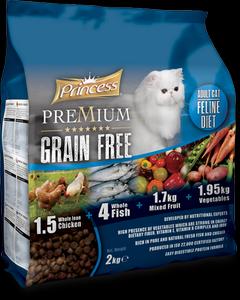 PRINCESS Premium Grain Free Cat 2 Kg