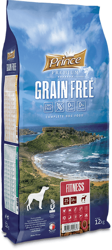 PRINCE Grain Free Fitness 12 kg