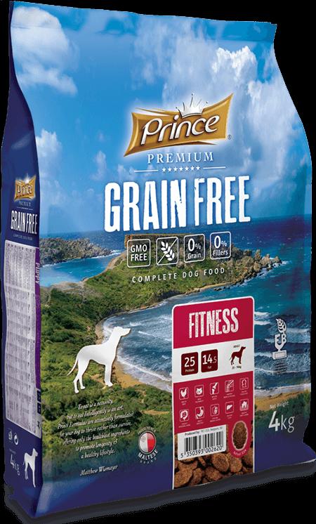 PRINCE Grain Free Fitness 4 kg