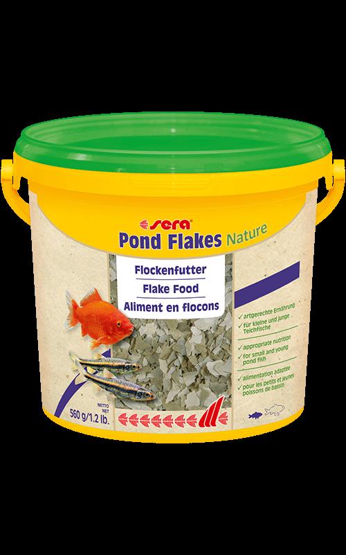 SERA Pond Flakes 3800ml (aliemnto en escama para peces pequeños)