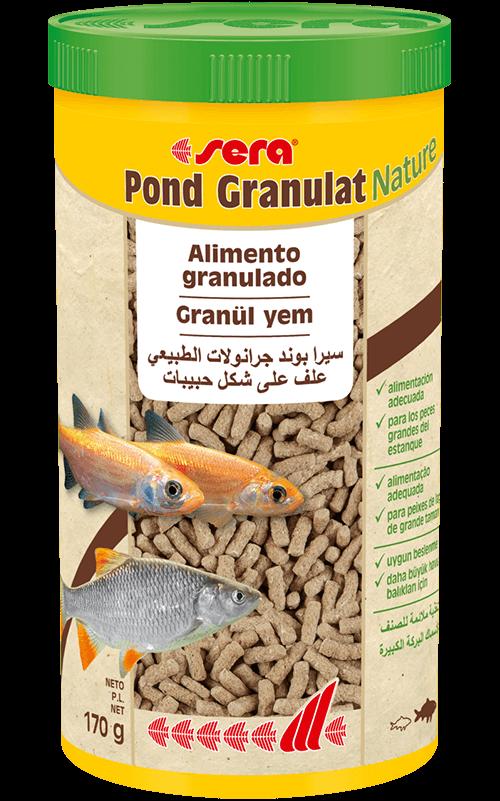 SERA Pond Granulat 1000ml (alimento en gránulos para peces grandes)