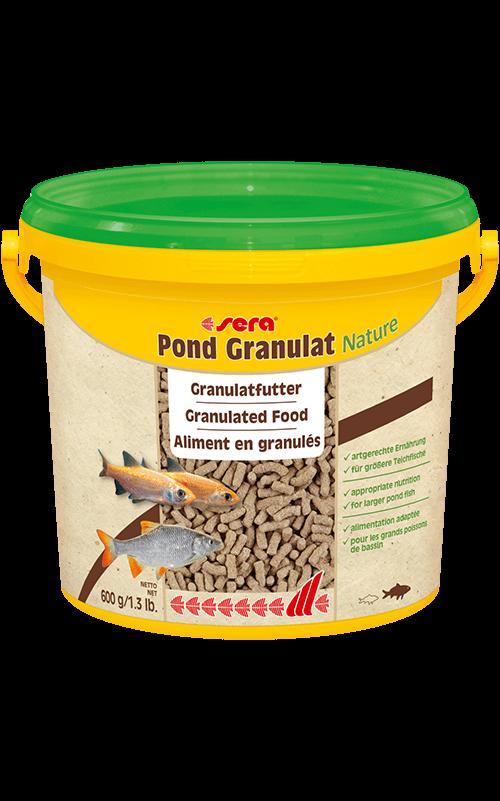 SERA Pond Granulat 3800ml (alimento en gránulos para peces grandes)