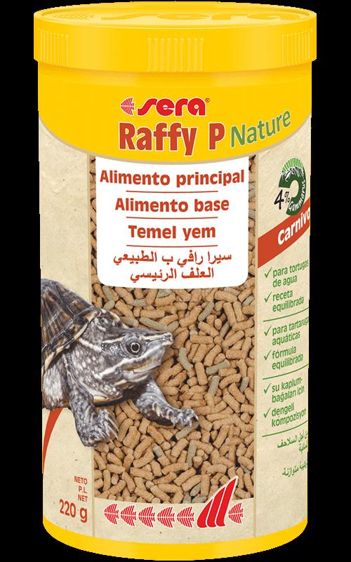 SERA Raffy P Nature 1000ml (alimento base equilibrado tortugas acuáticas)