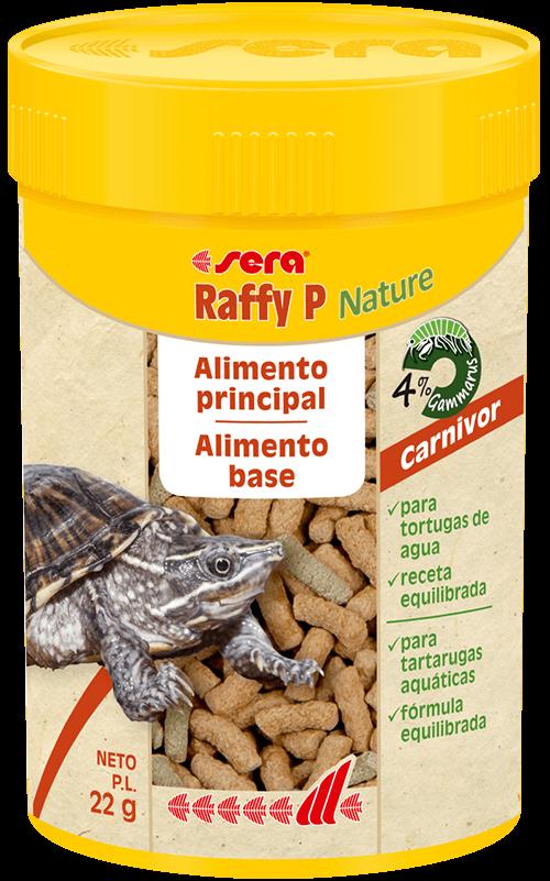 SERA Raffy P Nature 100ml (alimento base equilibrado tortugas acuáticas)