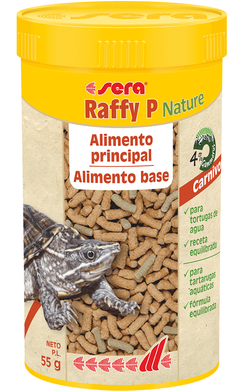 SERA Raffy P Nature 250ml (alimento base equilibrado tortugas acuáticas)