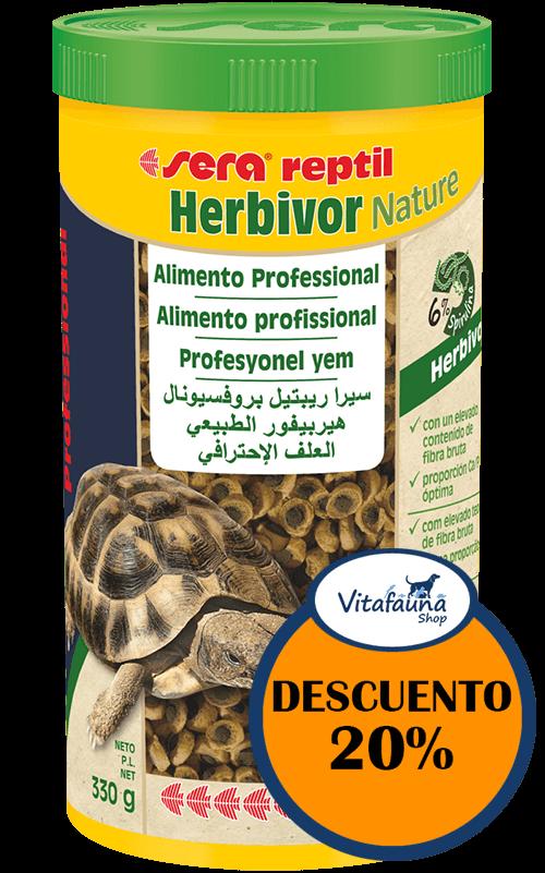 SERA Reptil Professional Herbivor Nature 1000 ml Comida para tortugas terrestres