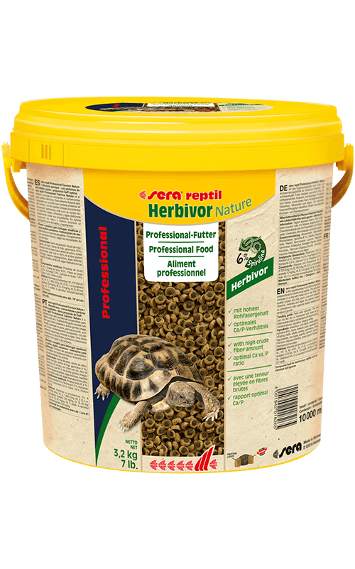 SERA Reptil Professional Herbivor Nature 10.000ml ( alimento especial reptiles herbívoros)