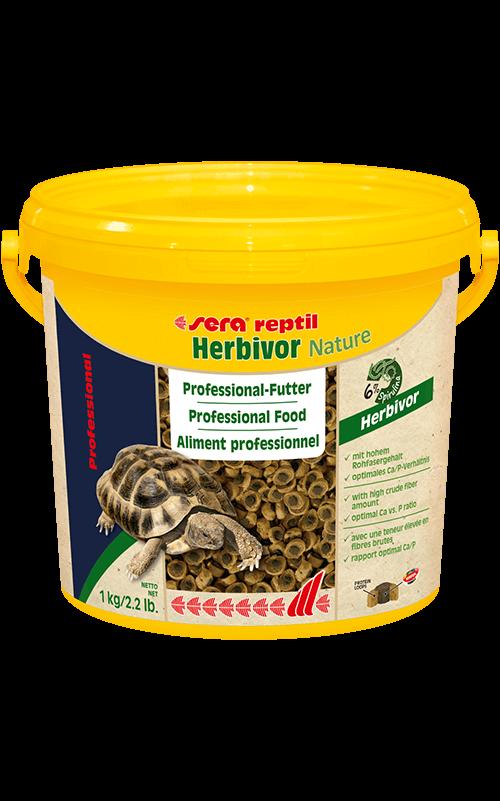 SERA Reptil Professional Herbivor Nature 3.800ml ( alimento especial reptiles herbívoros)