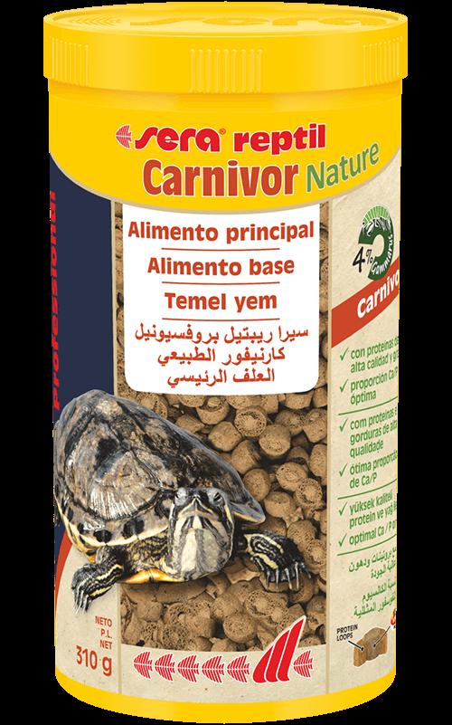 SERA Reptil Professional Carnivor Nature 1000ml (alimento especial tortugas acuáticas)