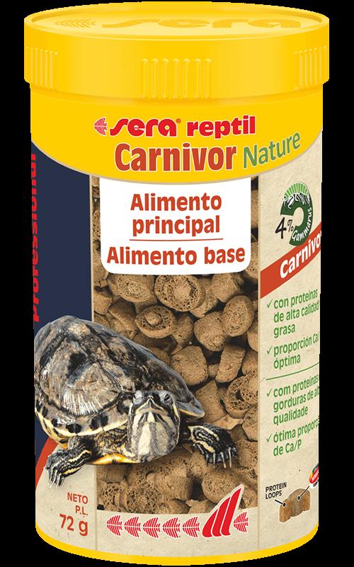 SERA Reptil Professional Carnivor Nature 250ml (alimento especial tortugas acuáticas)