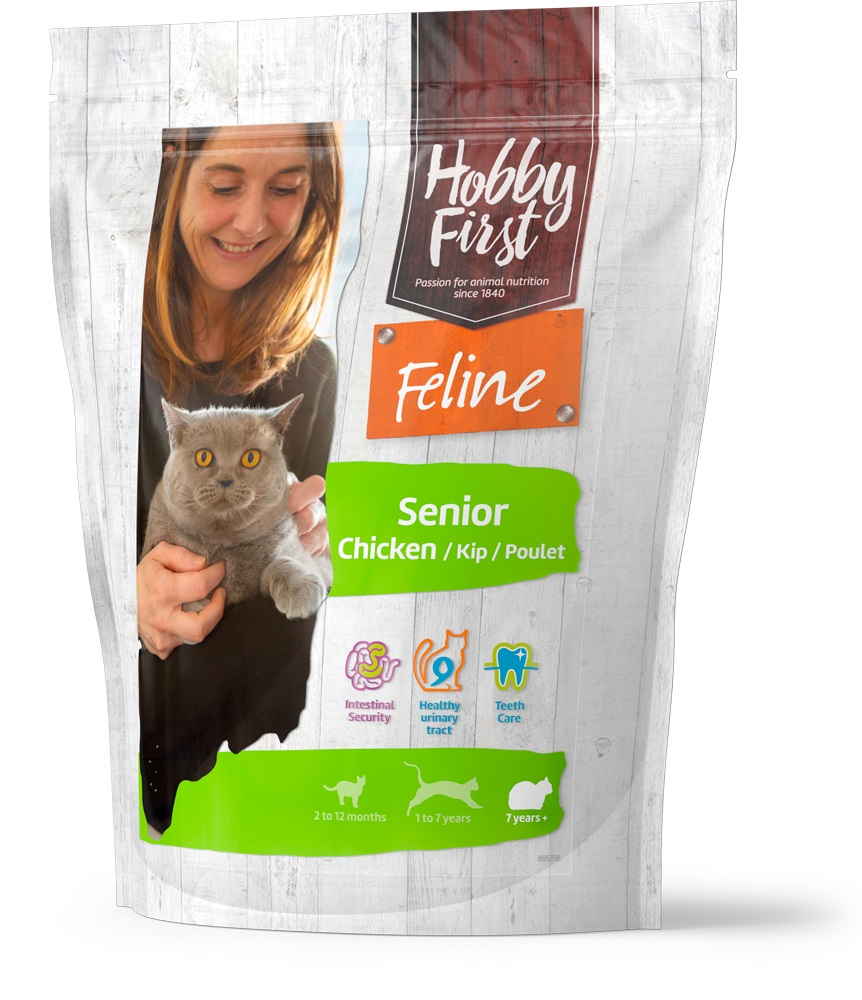HobbyFirst Feline Senior Chicken 800 g
