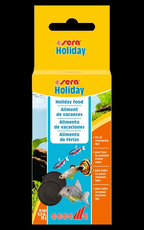 SERA Holiday 10 pastillas (alimento para 1 semana)