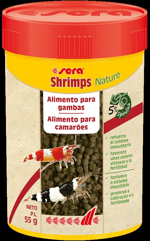 SERA Shrimp Mineral Salt 105gr (minerales y oligoelementos para gambas y otros invertebrados)