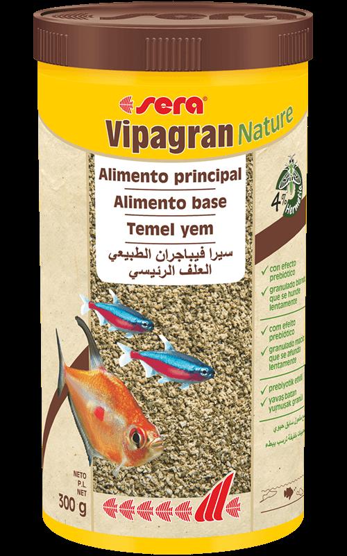 SERA Vipagran Nature 1000 ml Comida para Peces