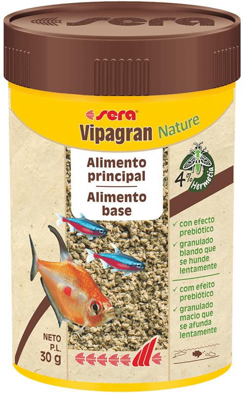 SERA Vipagran Nature 100ml ( alimento principal, granulado)