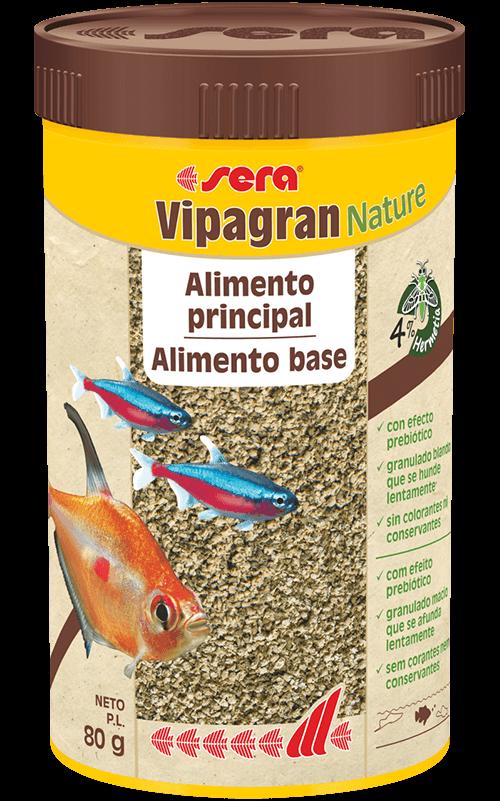 SERA Vipagran Nature 250ml Comida para Peces