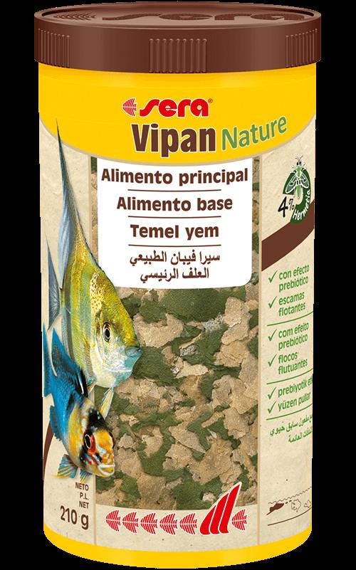 SERA Vipan Nature 1000ml (alimento principal, en escamas)