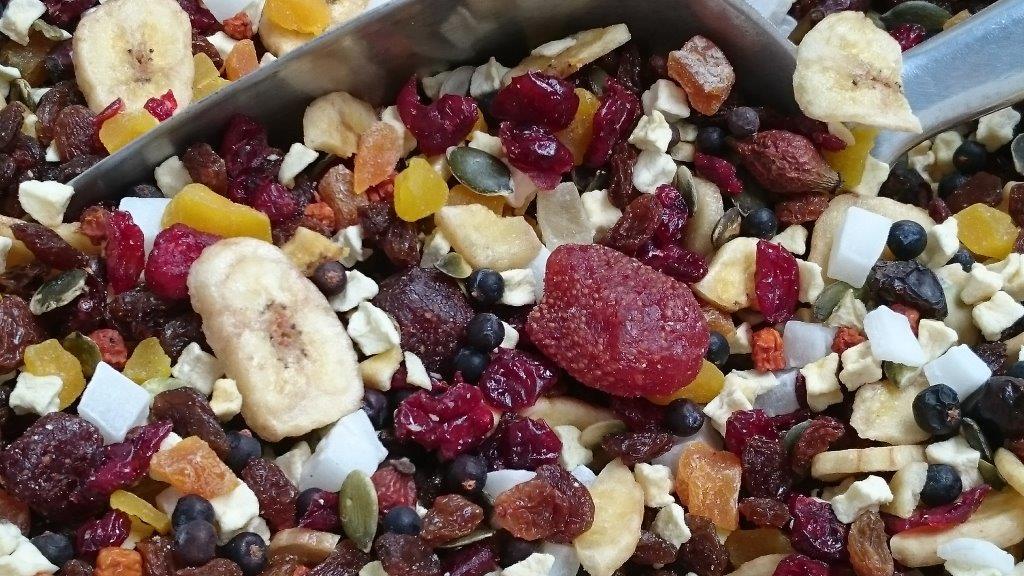 VOGELJUNGLE Berrie mix (mixtura frutas y bayas) 500 g
