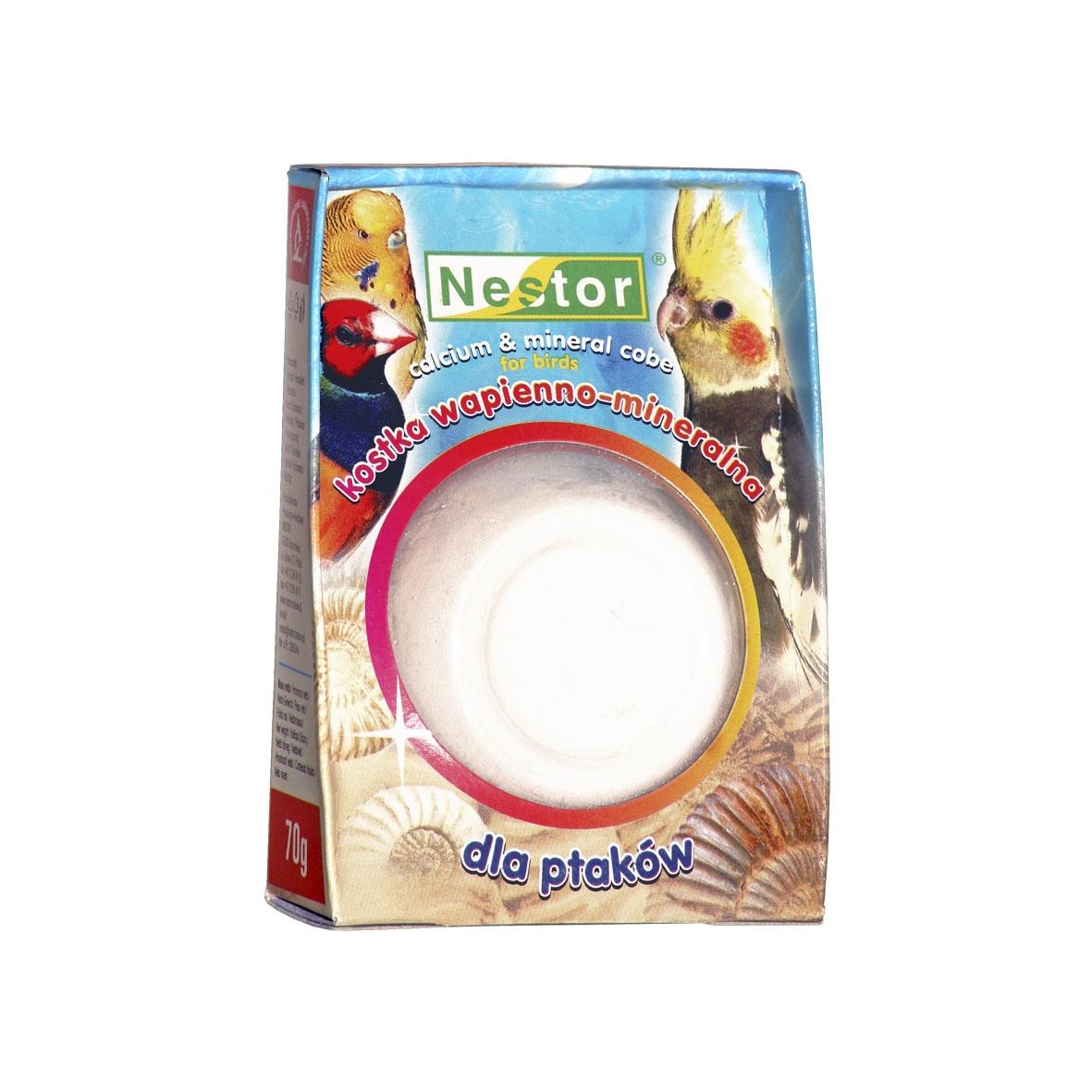 NESTOR Cubo calcio & minerales Pájaros 55g