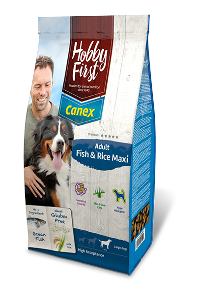 HobbyFirst Canex Adult Fish and Rice Maxi 12 kg