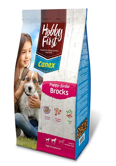 HobbyFirst Canex Puppy-Junior Brocks 3 kg