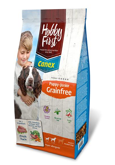 HobbyFirst Canex Puppy-Junior Grainfree 3 kg