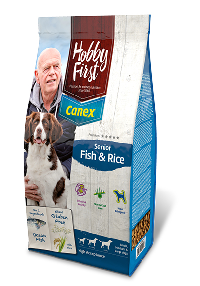 HobbyFirst Canex Senior Fish & Rice 12 kg