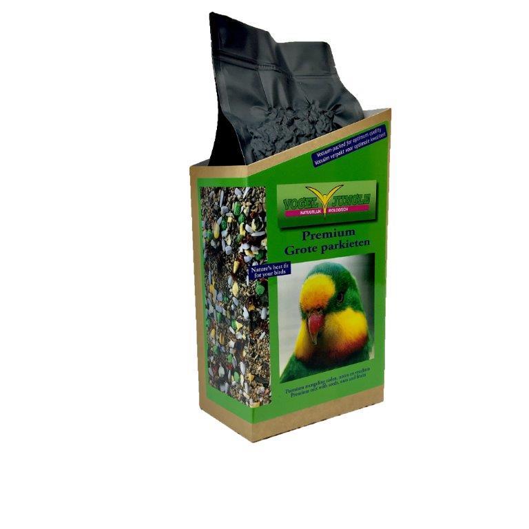 Premium Large parakeet (cotorras y grandes periquitos) 1,5 kg VJ
