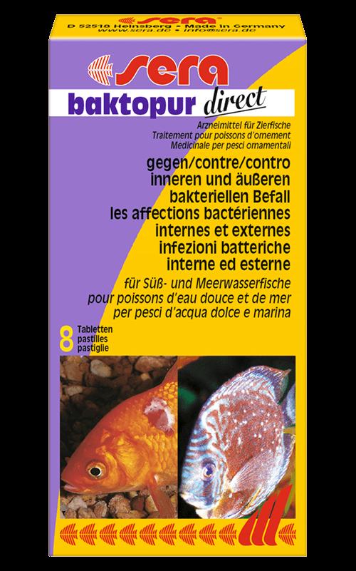 SERA Baktopur direct 8 pastillas (contra enfermedades bacterianas en fases avanzadas)