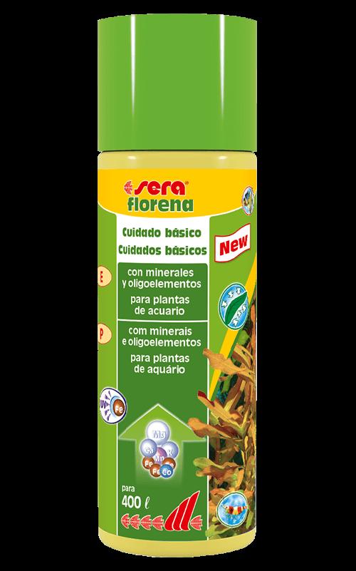 SERA Florena 100ml (minerales y oligoelementos esenciales para plantas acuáticas)