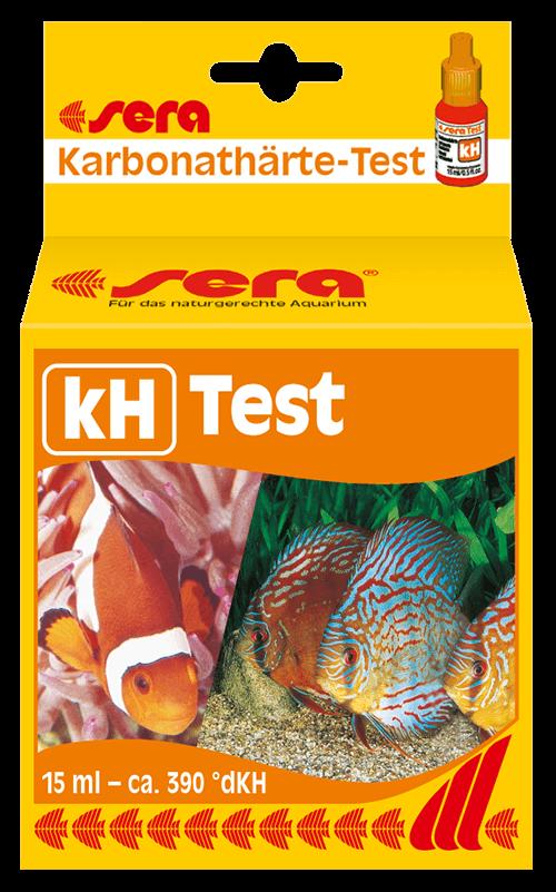 SERA test de kH (control dureza del agua, dulce y salada)