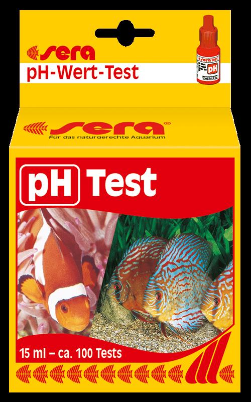 SERA test de pH (control valor de pH de agua, dulce y salada)